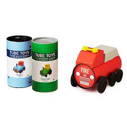 Eco-Friendly Tube Toy Vehicle