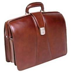 Partners Leather Computer Briefcase