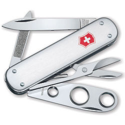 Swiss Army Knife with Cigar Cutter