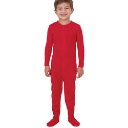 Red Dropseat Pajamas for Boys
