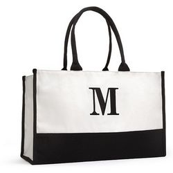 Personalized Initial Modern Tote