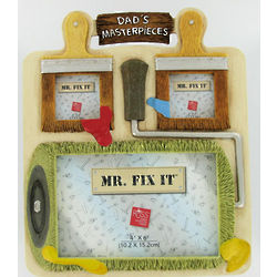 Mr. Fix It Dad's Masterpieces Picture Frame