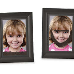 Fuzzy Face Magnetic Picture Frame