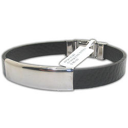 Unisex High-End Stainless Steel Engravable Bracelet