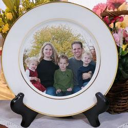 Picture Perfect Custom Photo Ceramic Plate