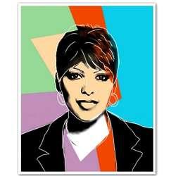 Tamron Hall 8x10 Pop Art Print