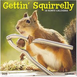 Getting Squirrely Wall Calendar