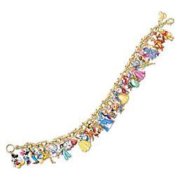 Ultimate Disney Classic Link Charm Bracelet