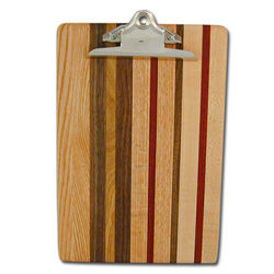 Wooden Letter Clipboard