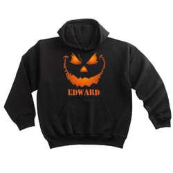 Personalized Killer Pumpkin Adult Hoodie