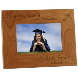 Congratulations Graduate 4x6 Photo Frame
