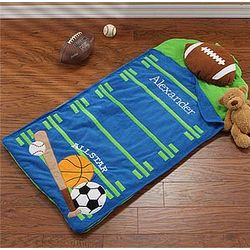 Personalized All Star Sports Nap Mat