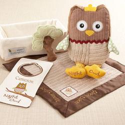 My Little Night Owl Five-Piece Baby Gift Set