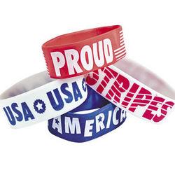 Patriotic Big Band Bracelets