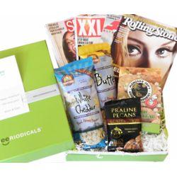 Music Magazine and Snacks Cheeriodical Gift Box