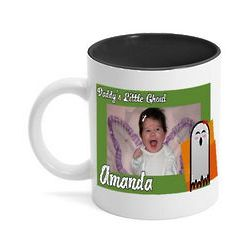 Daddy's Little Ghoul Halloween Photo Mug