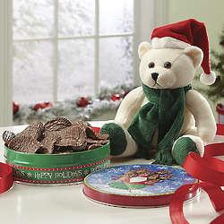 Sugar Free Chocolatey Potato Chips and Plush Bear