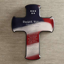 Soldier's Prayer Personalized Wall Cross