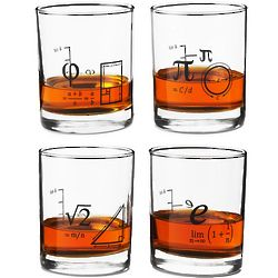 Mathematical Equation Shot Glasses