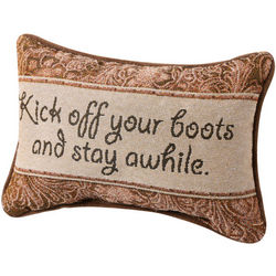 Kick Off Your Boots Pillow