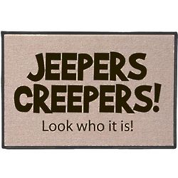 Jeepers Creepers Doormat