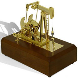 Oil Derrick Platform Musical Box