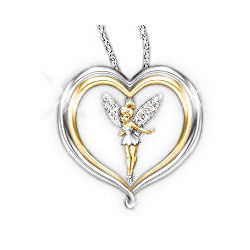 Disney's Tinker Bell Believe Pendant Necklace