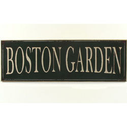 Boston Garden Sign
