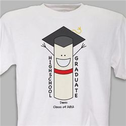 Personalized High School Graduation T-Shirt