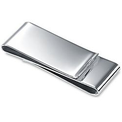 Sterling Silver Double-Sided Money Clip