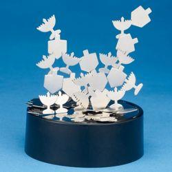 Kinetic Magnetic Hanukkah Sculpture