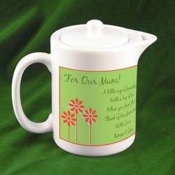 Personalized Miniature Teapot for Mom
