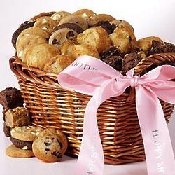 Mother's Day Cookie and Brownie Bites Basket