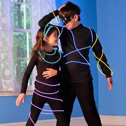 LED Rope Light-Up Costume Kit