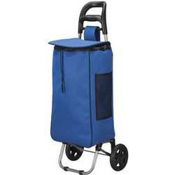 Royal Blue Rolling Shopping Bag