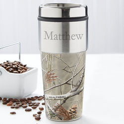 Camouflage Personalized Travel Mug