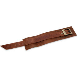 Sporty Brown Men's Leather Wristband Bracelet