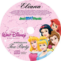 Personalized Disney Princess Music CD