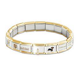 Favorite Dog Breed Italian Charm Bracelet
