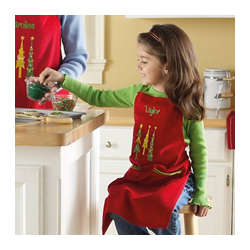 Personalized Kid's Christmas Apron