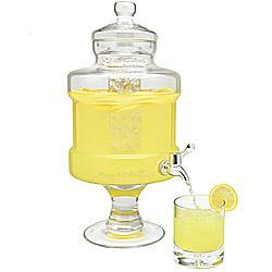Pedestaled Ice Chamber Beverage Dispenser