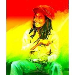 Bob Marley Pop Art Print