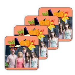 Thanksgiving Photo Coasters