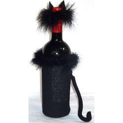 Black Cat Bottle Cover