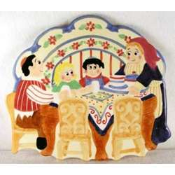 Hand Painted Family Cheese Board