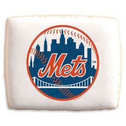 MLB New York Mets Cookies