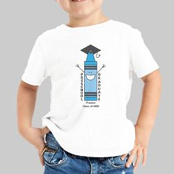 Personalized Preschool Graduation T-Shirt