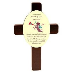 Christmas Memorial Keepsake Cross