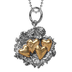 Bundled with Love Nest Charm Necklace