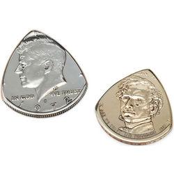 Repurposed Coin Guitar Picks
